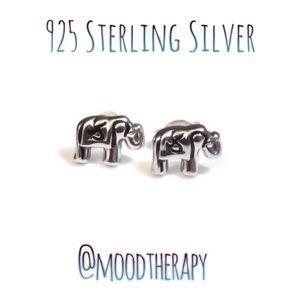 🐘boho elephant stud/post earrings